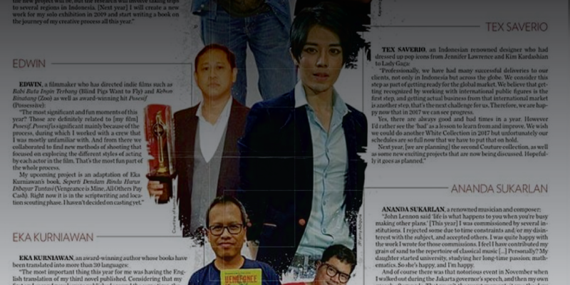 Honoured by The Jakarta Post