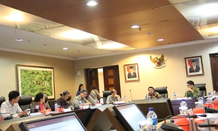Ananda Sukarlan & Moeldoko Bahas Potensi Besar di Bidang Seni danBudaya